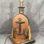 vintage anchor lamp pulley block rope accent light decorative fullxfull nautical table lamps brown cast iron wood statue tackle ship decor balcony sets outdoor furniture istikbal 150x150