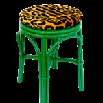 vintage emerald green leopard velvet rattan bamboo accent stool and table chairish cherry buffet inch nightstand decorative wine rack west elm rocking chair wood stump side corner 150x150