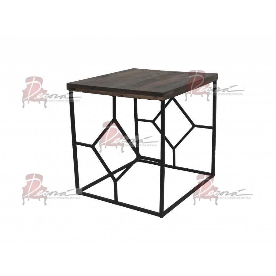 vintage gallatin accent table furniture event rentals miami img metal cherry wood dinner ikea shelves stacking tables seattle lighting round dining set coffee with small nesting