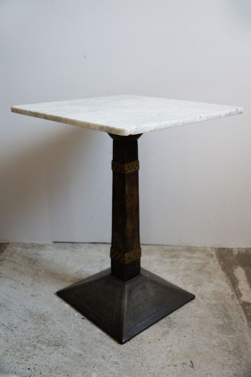 vintage marble bistro tables set for pamono accent table kitchen world market lamp shades lounge covers target rod iron frame battery operated bedside lights home decor edmonton