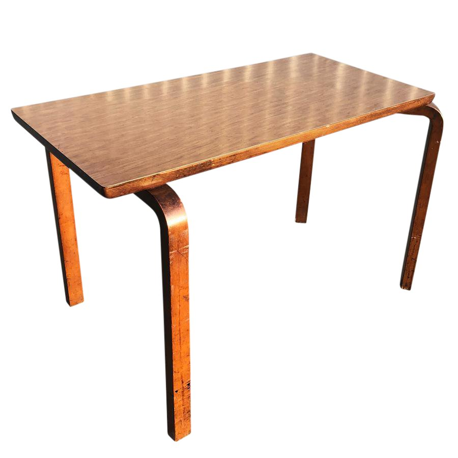 vintage mid century modern thonet bentwood accent table chairish ashley furniture reclining sofa white outdoor chairs inexpensive lamps marble coffee brass tablecloth for round
