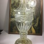 vintage rare urn clear table lamp frosted cut crystal glass brass fullxfull accent lamps shape hollywood regency audio furniture ese narrow decorative ikea half moon hall pin legs 150x150