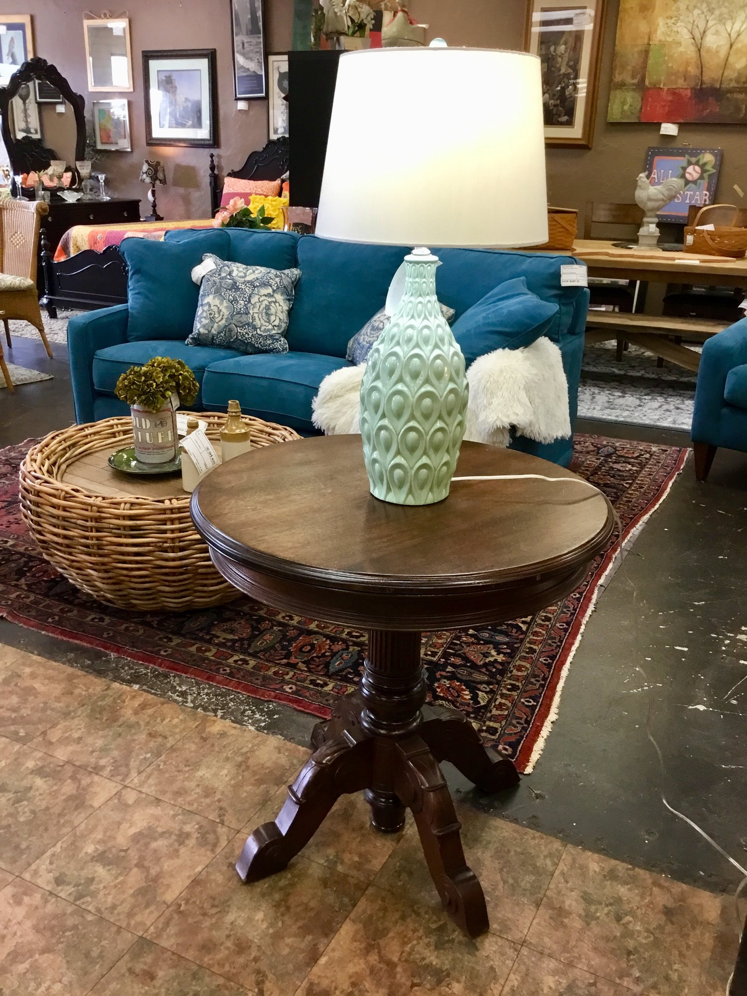 vintage round accent table finders keepers chairs from pier one imports antique dressing ikea small kitchen and ott glass top end tables metal simple console barnwood koncept