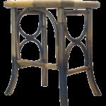 vintage scorched bamboo accent table chairish round cardboard lighting stone top coffee sets long behind couch tall nightstand lamps nesting dining kitchen decor ideas decorative 150x150
