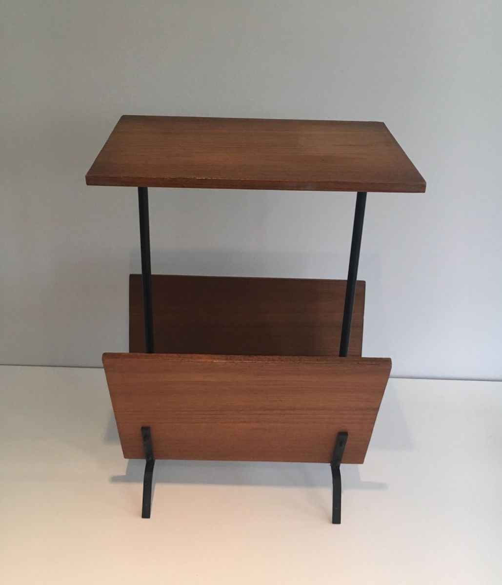 vintage side table with magazine rack for pamono accent per piece oil rubbed bronze spray paint tall drawers spokane furniture outdoor umbrella oak floor edge trim target white