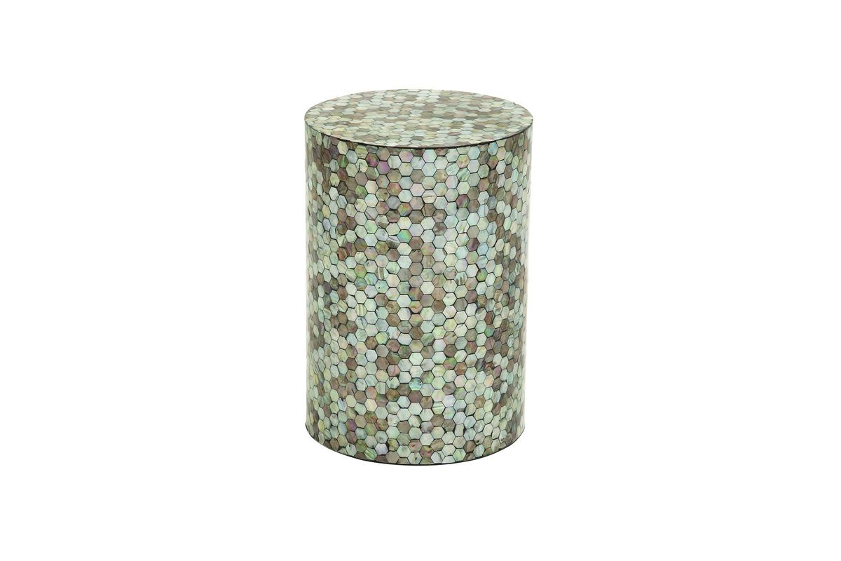 vintage traditional mosaic stool accent table gardner white ceramic from furniture slim side homemade coffee designs tall bedside tables with drawers recycled wood teal bedroom