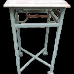 vintage used marble side tables chairish century american classical iron and equestrian themed table pink accent ikea bath rugs turquoise furniture antique oak with drawer pottery 150x150