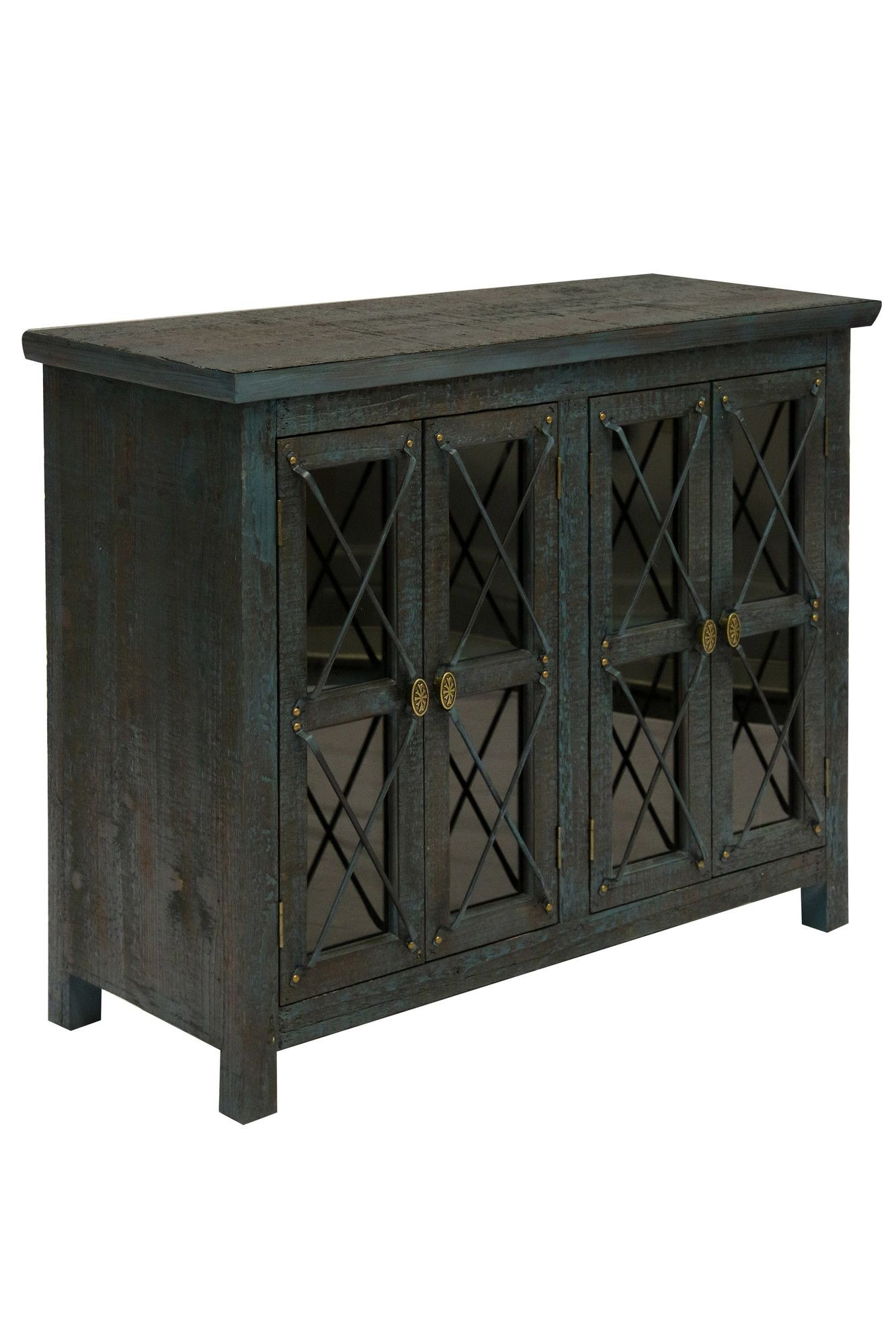 vozelle door cabinet products furniture doors and accent tables cabinets portable sun umbrella trunk beverage cooler side table threshold windham pottery barn square coffee brown