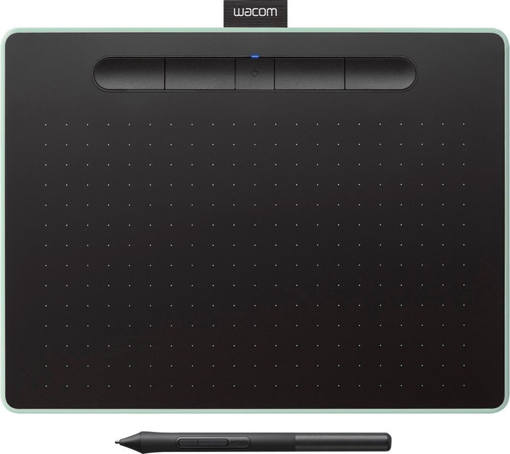 wacom intuos wireless graphic tablet medium with bonus software accent tablette fast included green best pottery barn hardware jofran table charging station modern stools metal