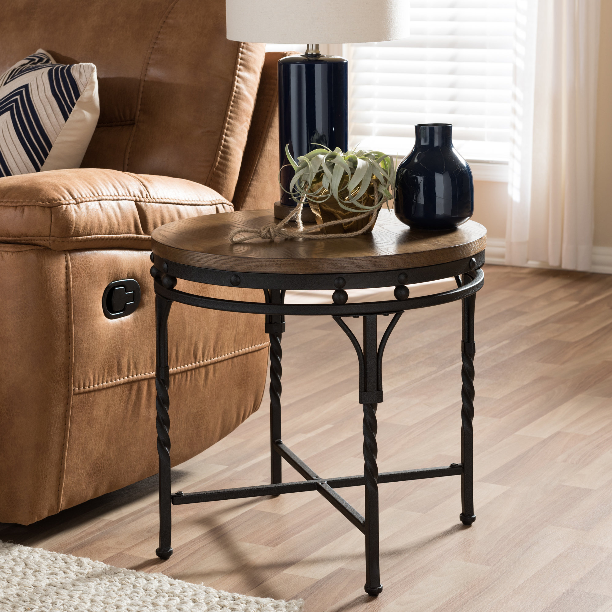 wadsworth end table reviews birch lane acacia wood accent knotty pine bedroom furniture round tablecloth sizes oak chairside tables gray outdoor side antique wall clocks coffee