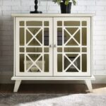 walker edison antique white gwen fretwork accent console office storage cabinets table blue bronze rain drum corner study desk pier imports chairs side cupboards for living room 150x150