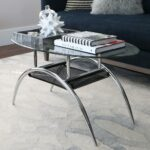 walker edison furniture company glass storage coffee table tables chrome metal accent console sofa with shelf round concrete dining ornamental lamps gold and silver long slim 150x150