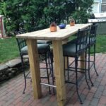 wanted bar height table found old nic barrel accent outdoor with balcony and chairs drop leaf dinette sets ceramic drum corner phone hampton bay wicker mid century legs small tall 150x150