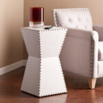 warrington faux leather accent table white living room linens grey sofa set outdoor patio stools affordable sets card target cool tables woodard furniture temple jar lamps 150x150