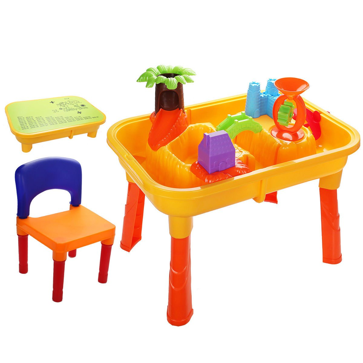 water table find line woven accent get quotations zon kids sand and beach play set with chair accessories drum parts small outdoor dining console baskets tool box cabinet tiered