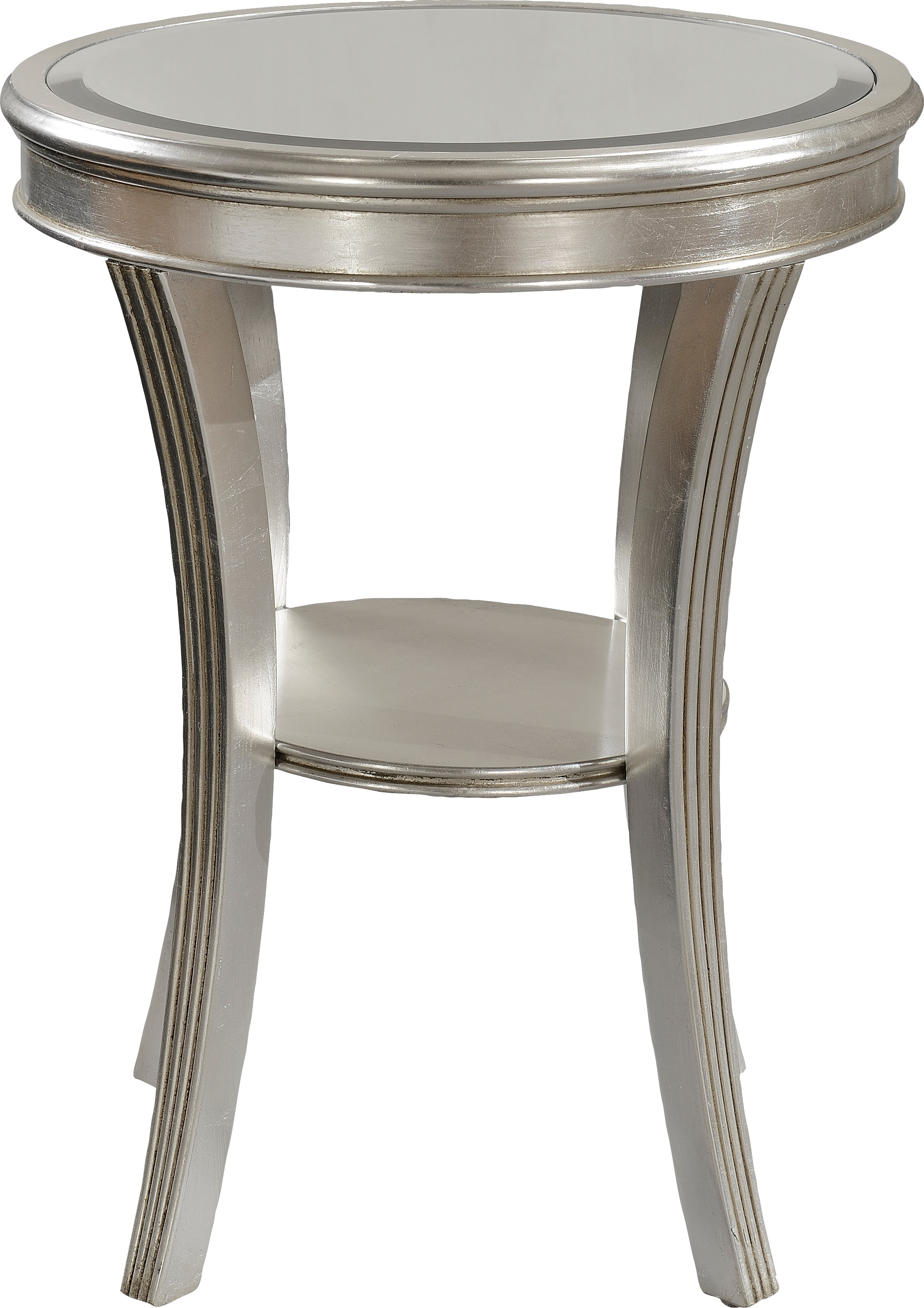 waterbury silver accent table tables colors grey recliner wyatt furniture wooden mats drawer side stand alone umbrella room essentials white nautical themed decorative chairs for