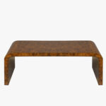 waterfall dark burlwood coffee table coffe tables dear keaton burl wood accent leg hardware laptop marble top pub set target bedside lamps wooden cabinets nautical side small 150x150