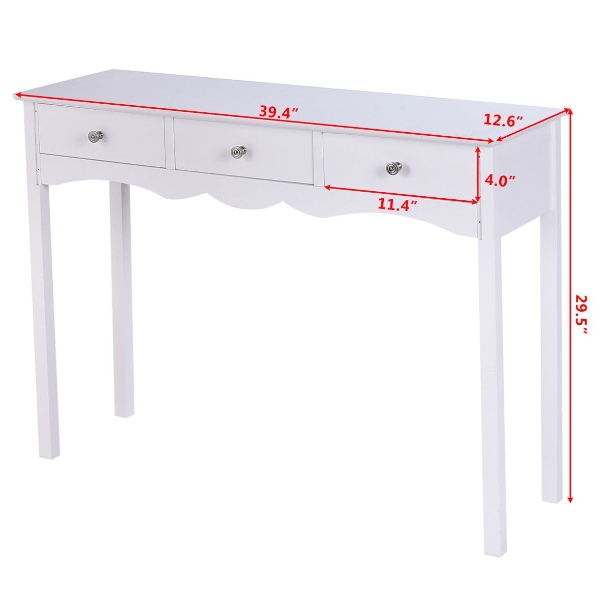 way console table hall side desk accent with drawers entryway white lotus led lights high round bar bedside pedestal legs pottery barn bedroom ideas marble top coffee threshold