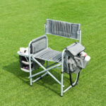 way folding compact director chair aluminum cup outdoor side table cooler holder bag round with drawer diy living room kmart desk cream and wood coffee patio furniture clearance 150x150