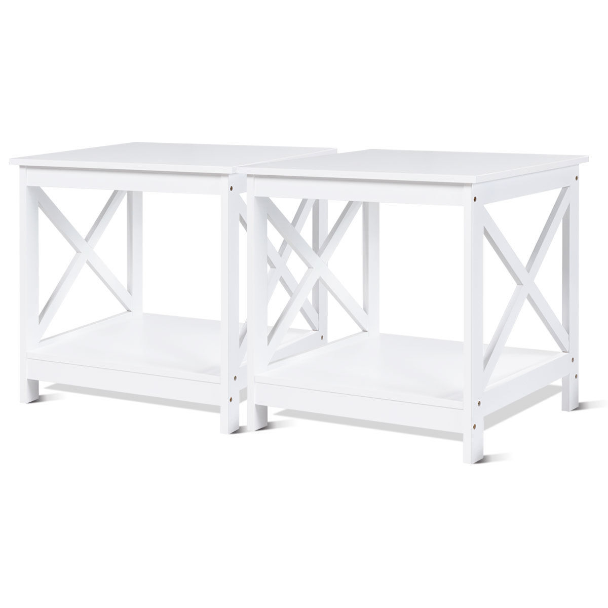 way pcs end table design display shelves accent white side sofa nightstand big ott inch lamps for living room modern acrylic coffee italian building barn door unique wall clocks