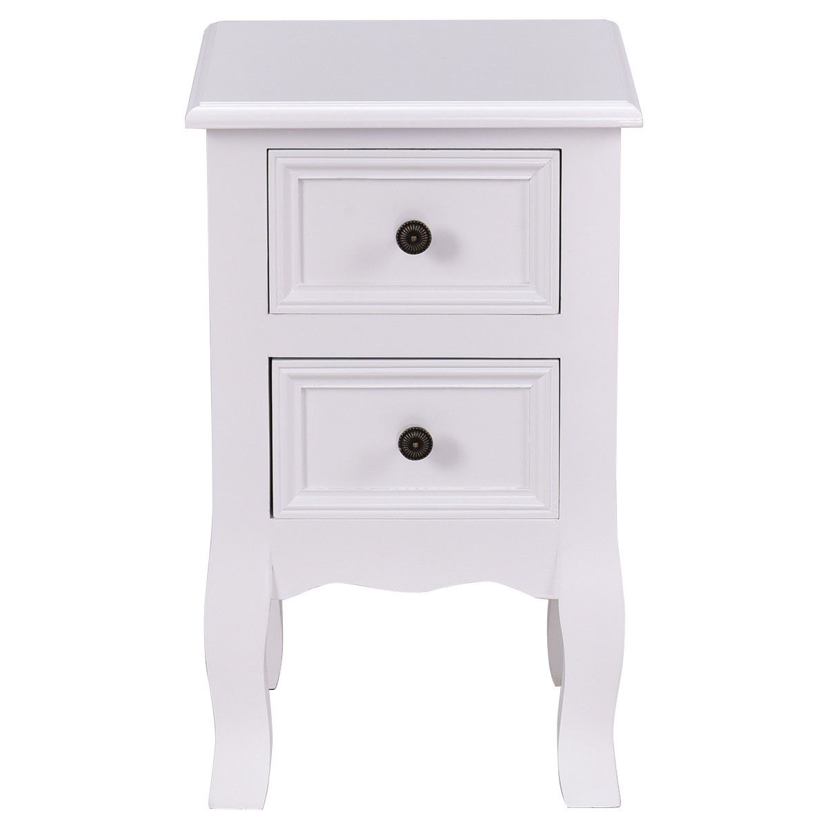way white night stand storage drawers wood accent table with end kilim runner queen frame cordless lights nesting dining grey and lamp small patio furniture round cover hammered