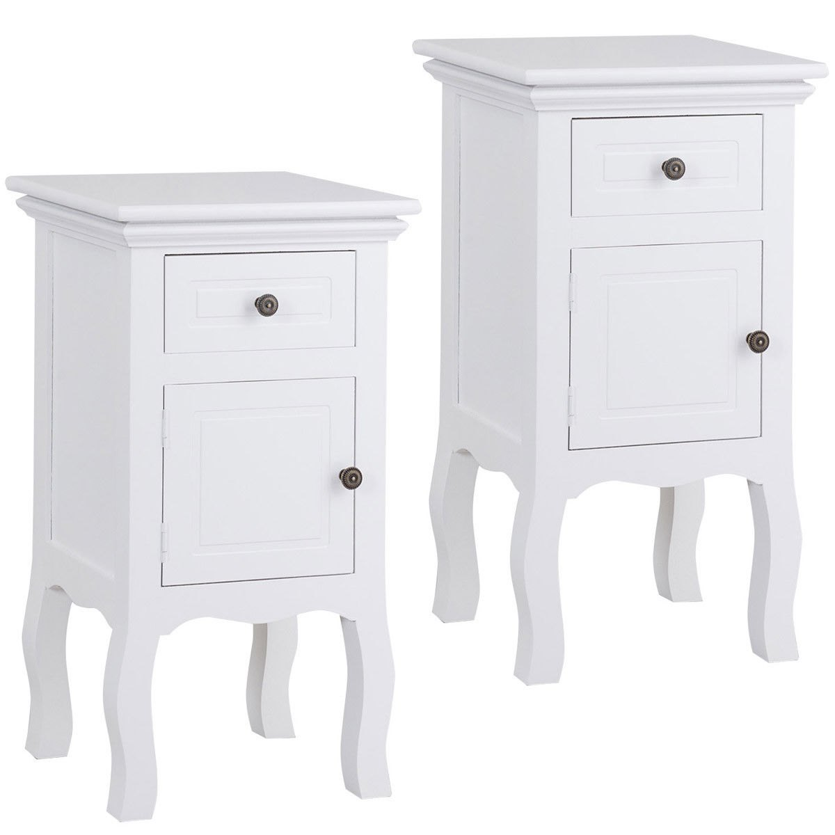way white nightstand storage drawer and cabinet accent table wood end barn door designs small lights battery operated coffee with lamp attached mini side round tablecloth house