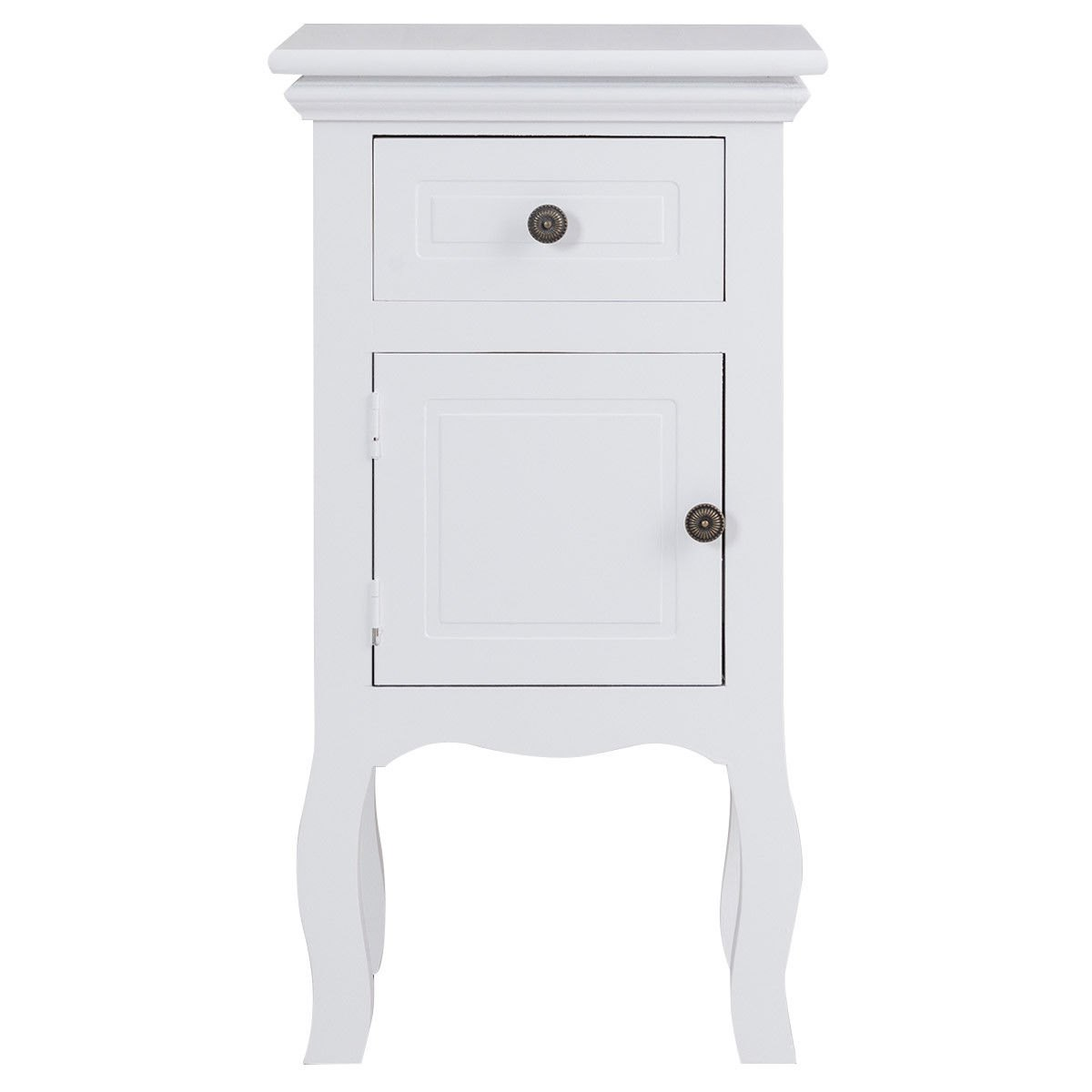 way white nightstand storage drawer and cabinet wood accent table end ikea vanity lights target outdoor wire side rose gold black acrylic small space living furniture console with