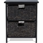 way wood end accent table home furniture living room night stand storage baskets with basket drawers free shipping today chrome glass tables goods lamp sets round black coffee pub 150x150