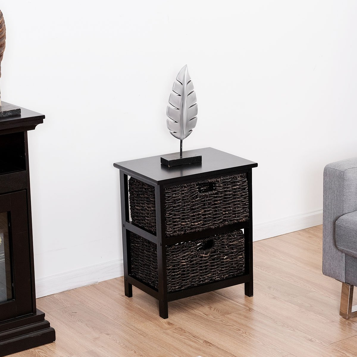 way wood end accent table home furniture living room night stand storage baskets with free shipping today narrow depth console uttermost dice red beach cottage decor rectangle