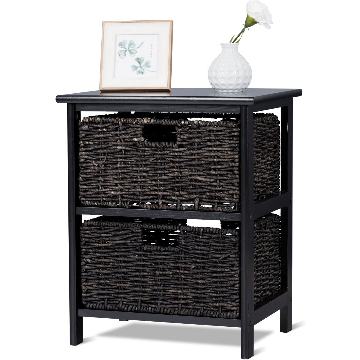 way wood end accent table home furniture living room with baskets night stand storage square patio covers barn style doors affordable dining sets pub set inch wide nightstand pier