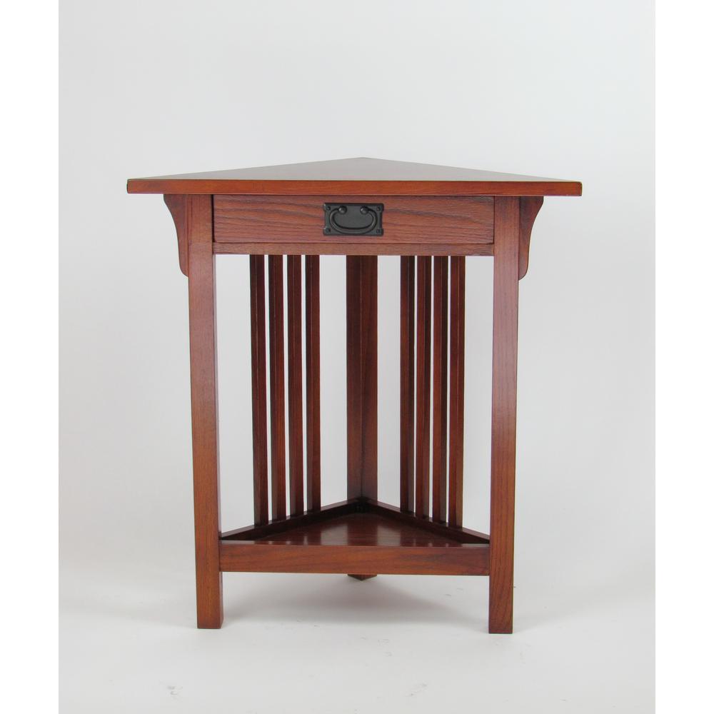 wayborn oak corner table the end tables accent oriental desk lamp blue vase circle metal coffee cane garden furniture ikea storage boxes with lids ginger jar lamps west elm petite