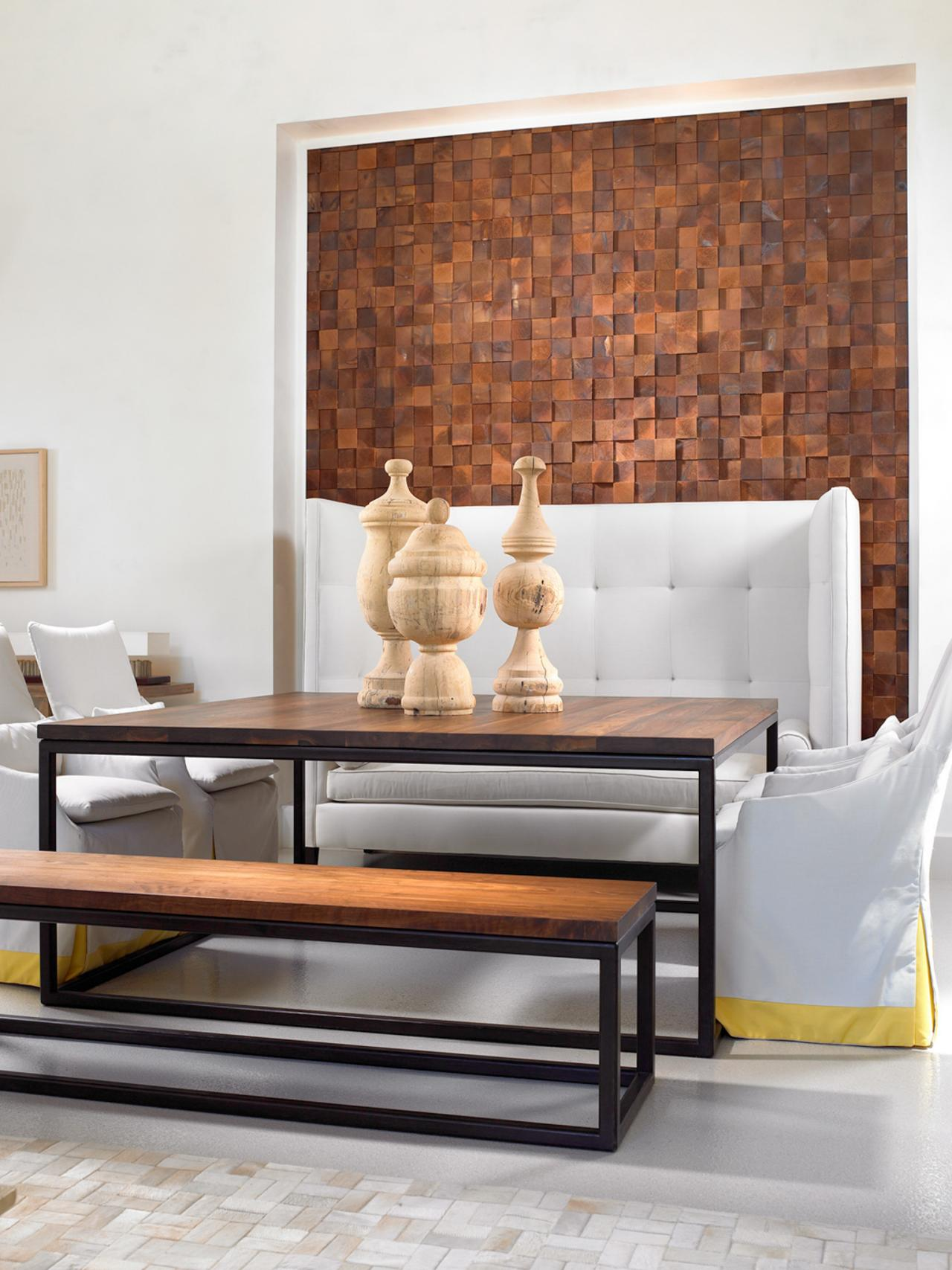 ways dress your dining room walls decorating accent pieces for table wood wall contemporary white small fold coffee skinny behind couch outdoor furniture pottery barn kitchen