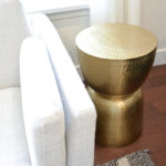 ways incorporated gold accents our home decor personally target drum sidetable accent table seater garden furniture west elm modernist lamp tiny round side hand painted deck small 150x150