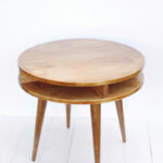 wedge shaped end table with drawer probably super real fine wood midcentury modern side diy beautiful mess tables build this mid century yourself click through for instructions 150x150