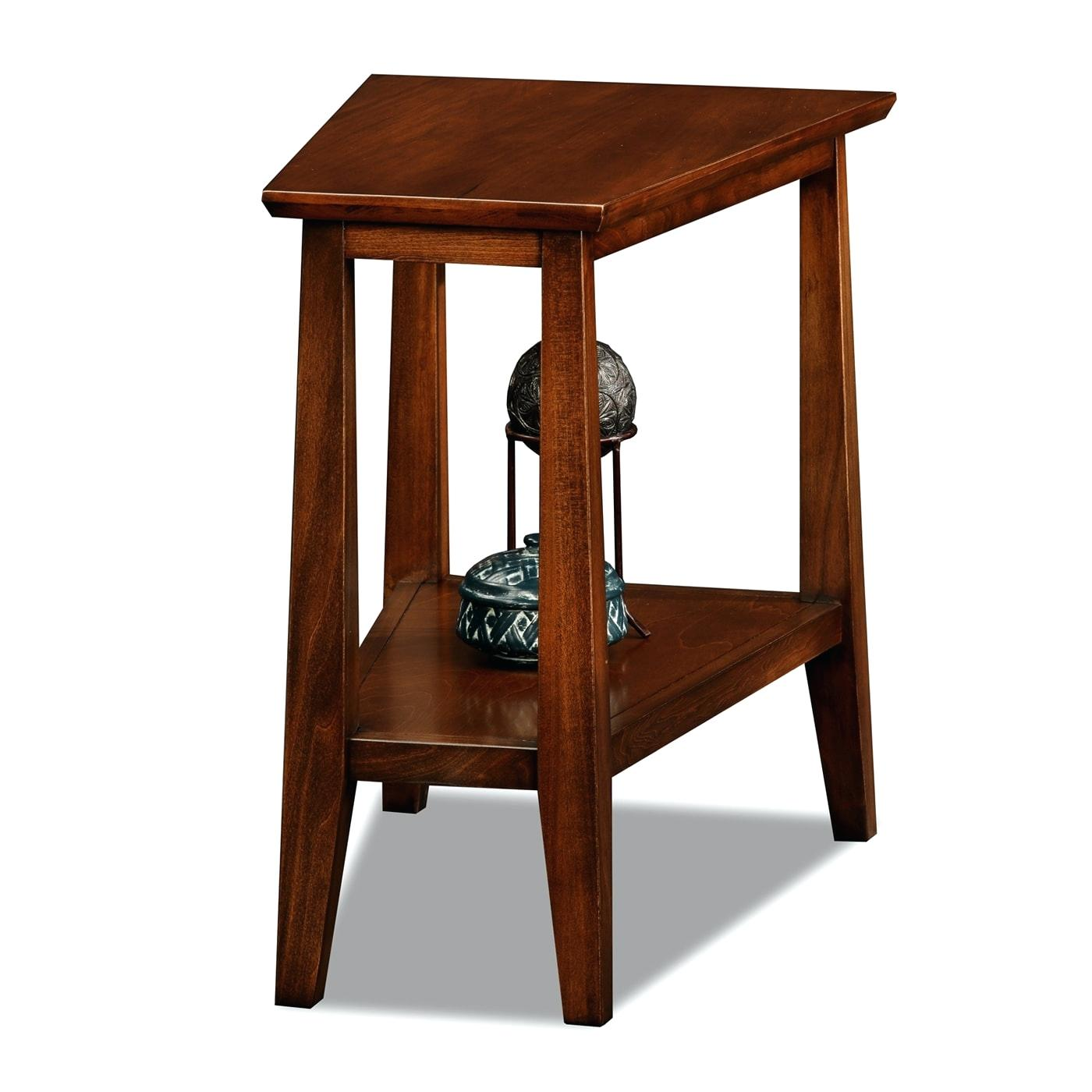 wedge shaped end tables occasional accent table coffee inch nightstand bar height for argos bedroom furniture whole tablecloths decorative side cupcake carrier target stained