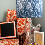 weekend diy courtney out loud courtneyoutloud lampshadevignette nate berkus glass agate accent table clear and gold coffee navy beach umbrella pottery barn graphers floor lamp 150x150