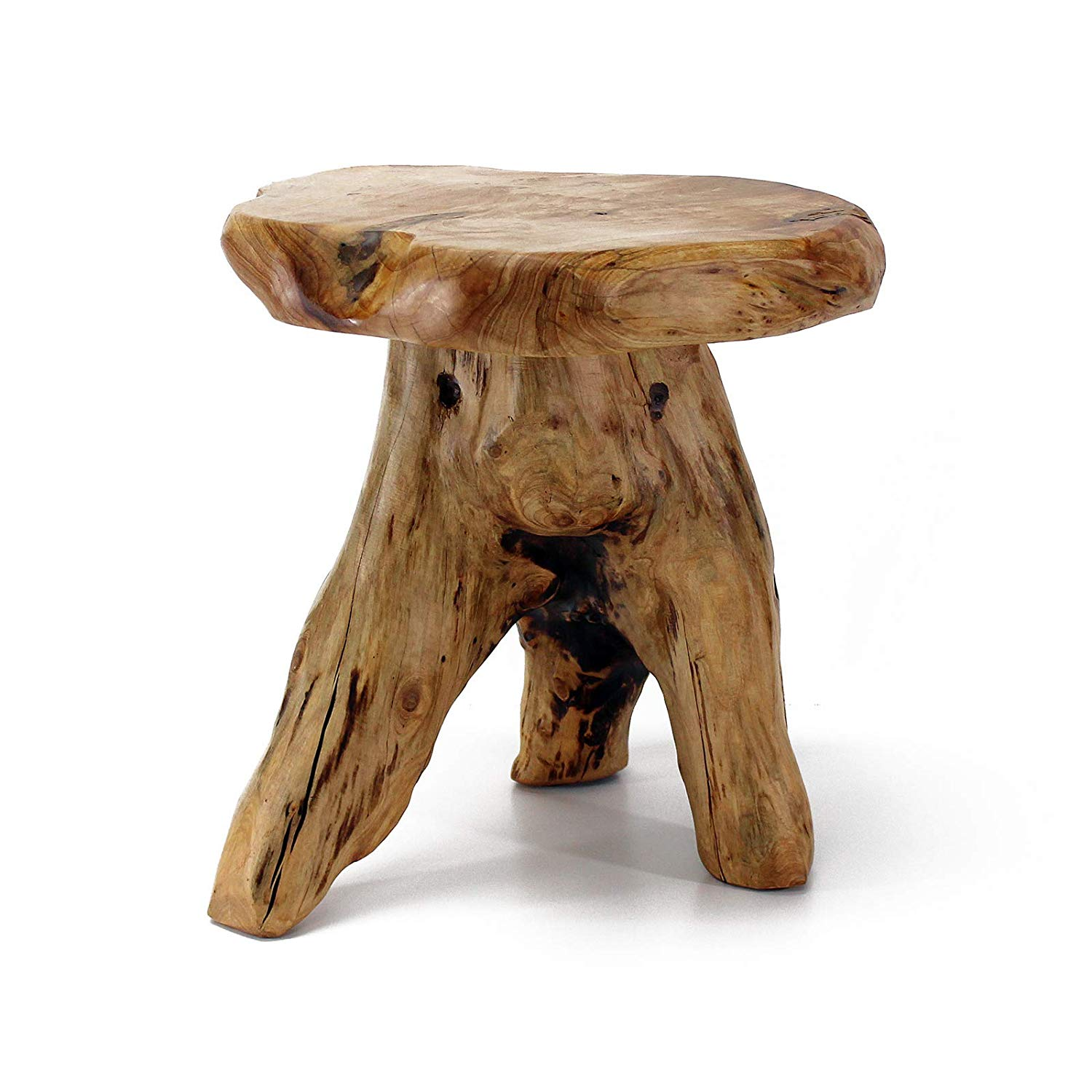 welland tree stump stool live edge natural side wood slab accent table plant stand nightstand mushroom tall garden outdoor black half moon battery powered standard lamp pier one