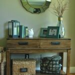 west elm inspired homegoods table makeover for the home house accent designs stain metal accents and custom made bin pulls over this find resemble battery operated lights with 150x150