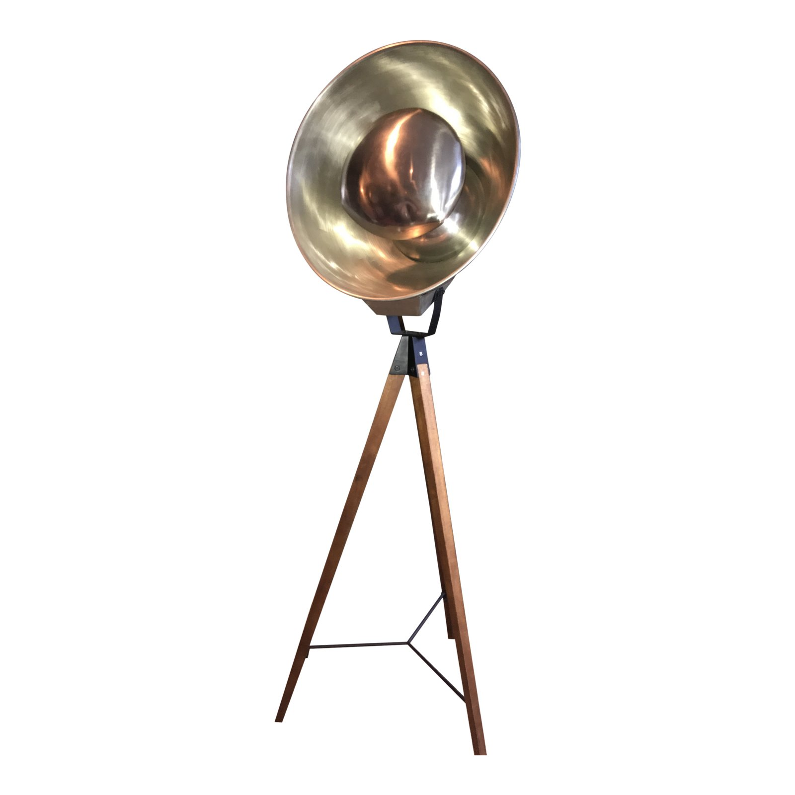 west elm studio tripod floor lamp chairish accent spotlight table antique chinese lamps yuma furniture skinny console faux fur throw target dimmable pendant deep seating patio