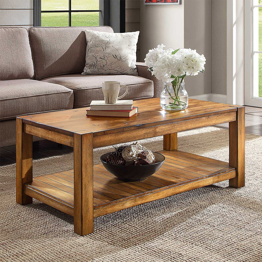 whalen style better homes and gardens mercer accent table vintage oak room organizer rustic brown living cabinets with drawers black pottery barn round patio set mirror top end