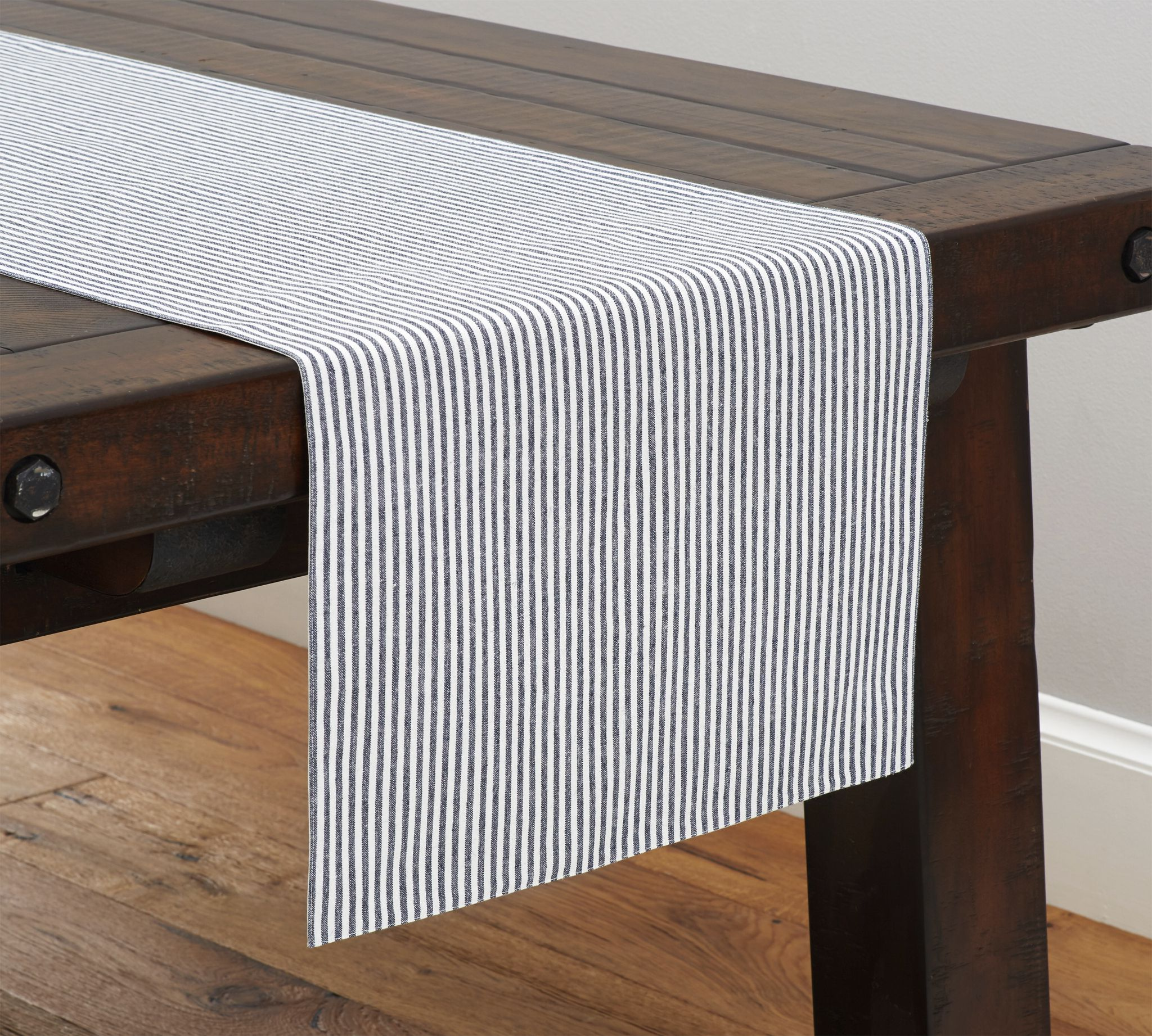 wheaton stripe table runner apartment life runners pottery barn jamie accent barntable runnersstripes small nightstands for bedroom sage green kitchen affordable living room