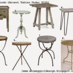 whimsy girl friday finds accent tables under obsidetable snapshot rustic metal table tiffany style lighting and accents outdoor aluminum coffee end patio umbrella razer ouroboros 150x150
