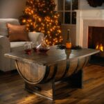 whiskey barrel coffee table plans pixelbox home design diy end accent high lighting dining chairs edmonton modern living room lamps hardwood floor threshold hawthorne glass top 150x150