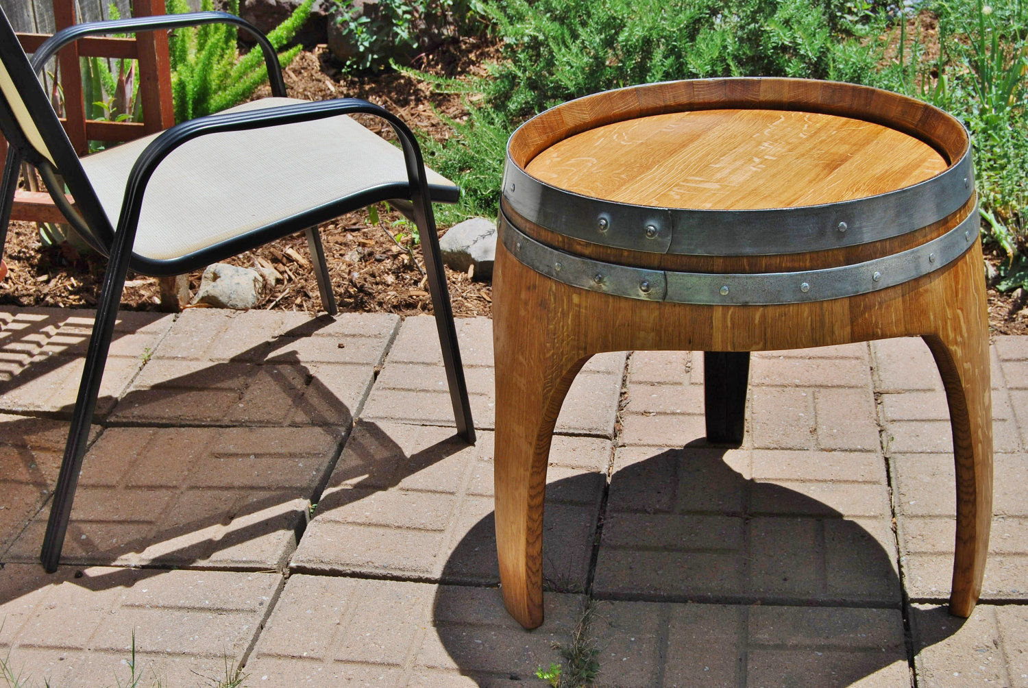 whiskey barrel top end tables barrels wedding pub bar table arched napa valley wine with legs upcycled accent bbq and chairs wooden bedside designs side storage bin fall quilted