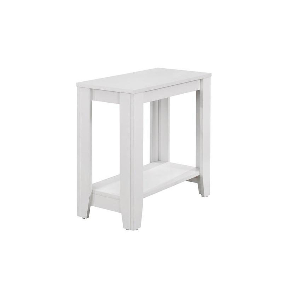 white accent side table bizchair monarch specialties msp main wood our modern solid with tapered legs matching bedside tables and chest drawers koncept lighting restoration