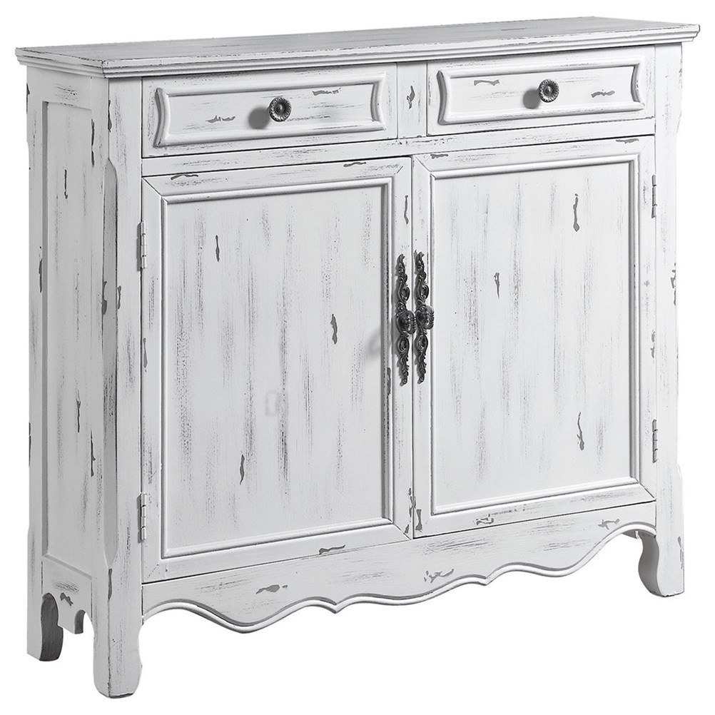 white accent table jigsy products coaster color cabinets safavieh janika off wood distressed fine furniture console with drawers wrought iron tables glass tops cabinet demilune