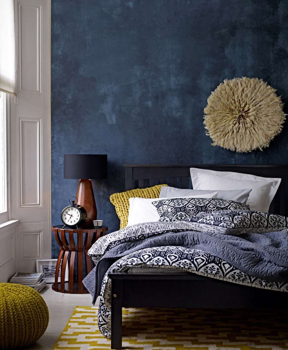 white accent wall and luxury awesome decor home with best deep blue modern eclectic bedroom gorgeous use light table coastal furniture plants antique claw foot coffee battery