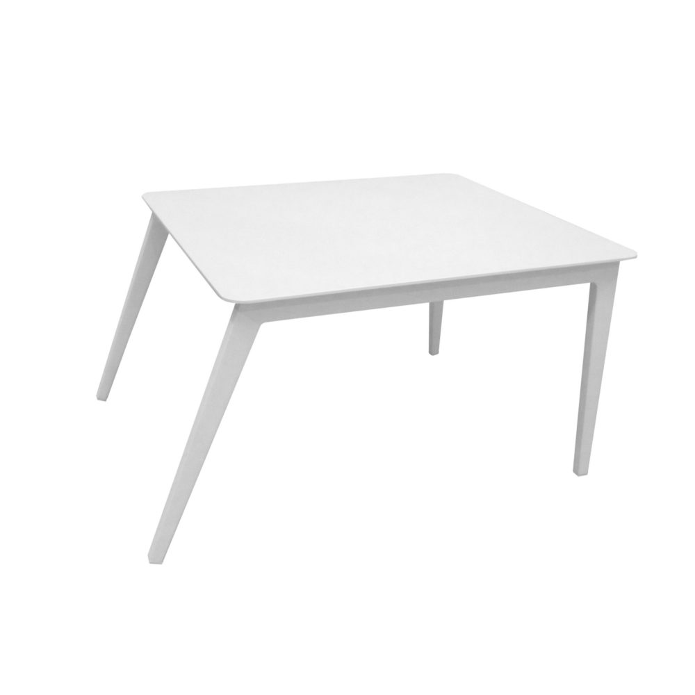 white aluminum side table outdoor furniture home couture miami angel ikea storage drawers folding target weber grill emerald green dining chairs round antique high gloss cloth