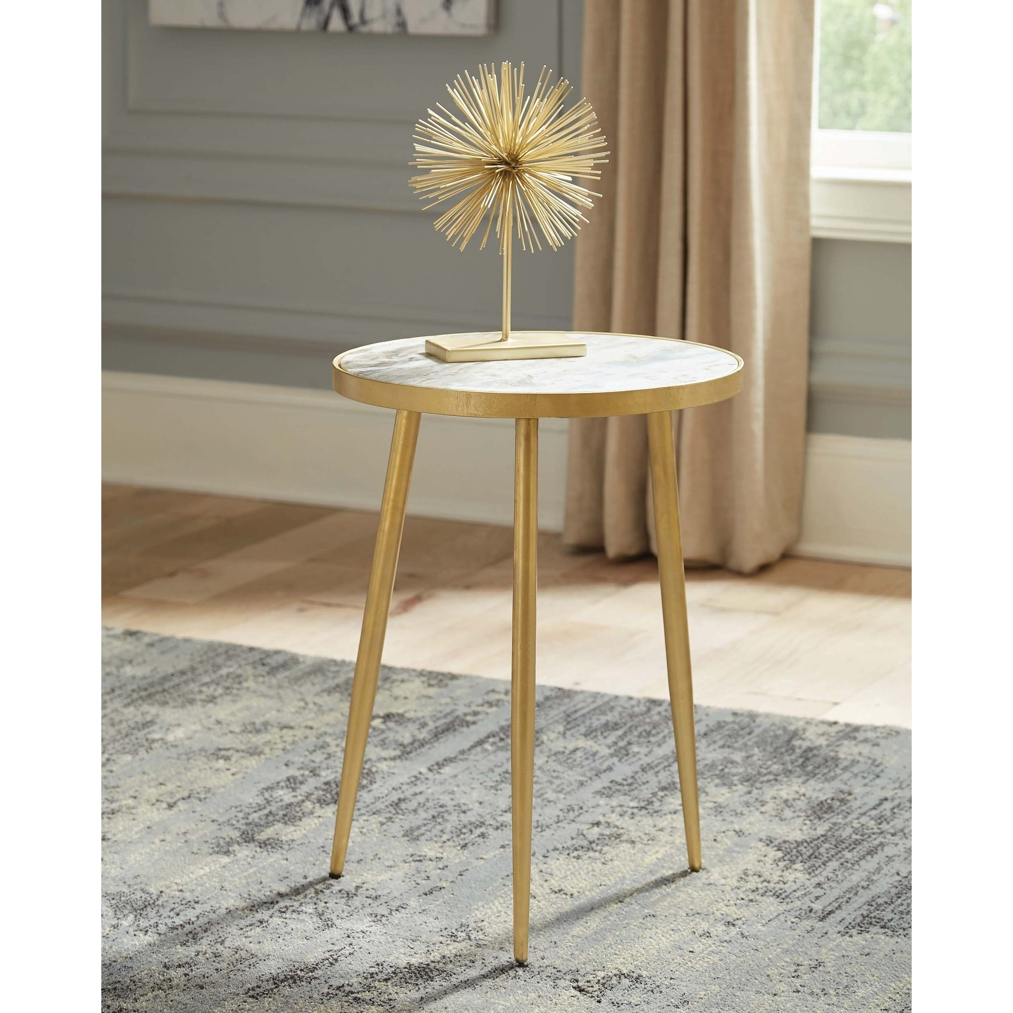 white and gold round accent table free shipping today long console behind couch rustic chairside homesense tables wine storage cabinets tree lamp corner furniture magnussen