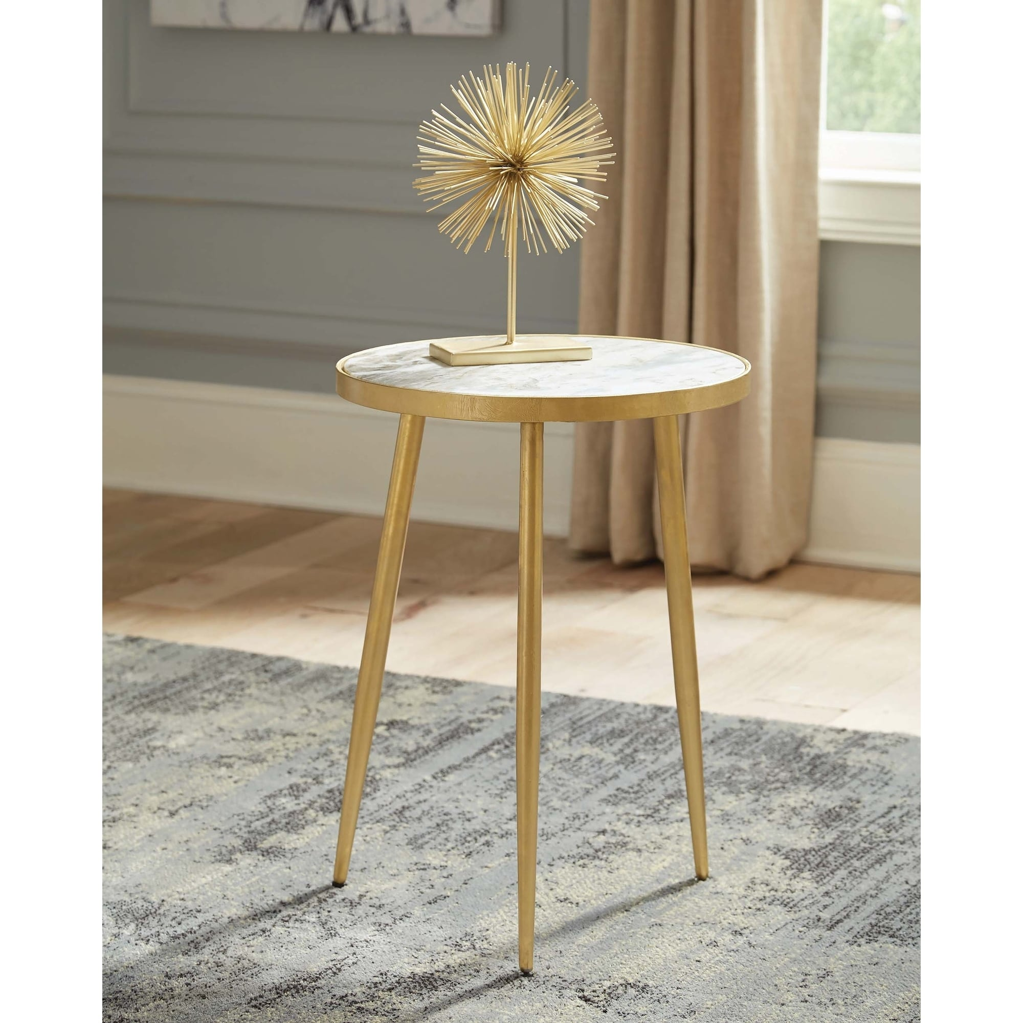white and gold round accent table free shipping today night stands vinyl tablecloth timber top bunnings clear acrylic sofa marble small wooden kitchen modern lounge glass console